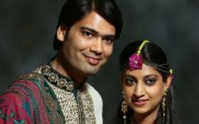 FILE: Aakash Jahajgarhia and Vega Gupta shortly before their wedding. Picture: Gupta family