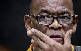 FILE: The ANC's Ace Magashule at the press briefing in Moses Mabhida Stadium, Durban on 11 January 2019. Picture: Sethembiso Zulu/EWN
