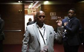 Former President Jacob Zuma's son Edward Zuma inside the Pietermaritzburg High Court.Picture: Sethembiso Zulu/EWN.