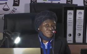 A YouTube screengrab of Judge Tintswalo Makhubele testifying at the state capture commission of inquiry in Johannesburg on 3 August 2020.