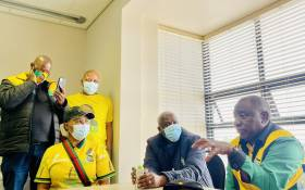 ANC President Cyril Ramaphosa is in the Free State as part of his party's election campaign. Picture: Twitter