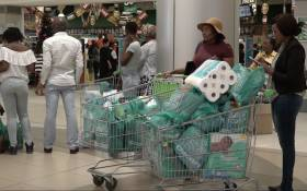 Consumers flooded to various stores for the Black Friday specials. Picture: Louise McAuliffe/EWN