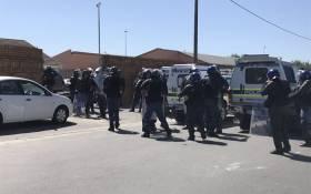 FILE: Philippi East police in the Western Cape. Picture: Monique Mortlock/EWN