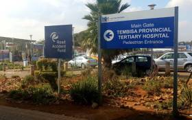 FILE: Tembisa Hospital. Picture: EWN.