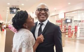 Business tycoon Romeo and his media mogul wife Basetsana Kumalo. Picture: Facebook.com