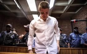 Nicholas Ninow appears in the Magistrates Court in Pretoria. Picture: Abigail Javier/EWN.