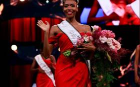 Lalela Mswane was crowned Miss South Africa 2021. Picture: Twitter.