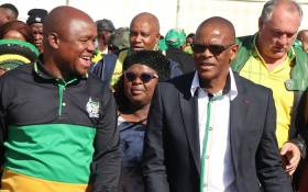 ANC secretary-general Ace Magashule arriving at Waaikhoek Methodist Church where hundreds of supporters are gathering to celebrate the life of Walter Sisulu on 18 May 2019. Picture: @MyANC/Twitter