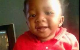 Fifteen-month-old Mpho Kgoroyadira was found dead after she was kidnapped in Klerksdorp. Picture: Saps
