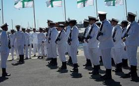 FILE: Members of the South African Navy in Simons Town. Picture: EWN.