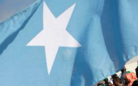 The Somalian flag. Picture: AFP