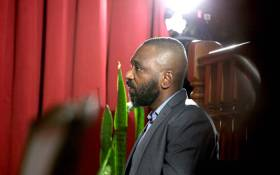 FILE: In this photo taken on 9 December 2019 Jose Filomeno dos Santos (L), the son of former Angolan President Jose Eduardo dos Santos, appears in the high court on corruption charges in Luanda. Picture: AFP