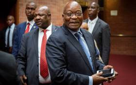 Former president Jacob Zuma at the KwaZulu-Natal High Court in Pietermaritzburg on 21 May 2019. Picture: Sethembiso Zulu/EWN.