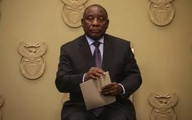 President Cyril Ramaphosa. Picture: Cindy Archillies/EWN
