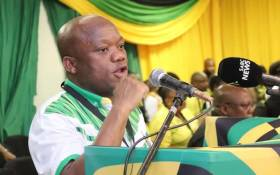 KZN ANC chairperson Sihle Zikalala at the provincial list conference on 12 December 2018. Picture: @ANCKZN/Facebook.