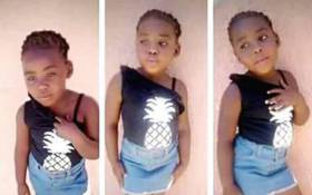Four-year-old Uyathandwa Stuurman. Picture: Lauren Isaacs/EWN.