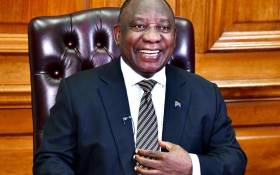 President Cyril Ramaphosa before addressing South Africans on Wednesday, 16 September 2020. Picture: GCIS