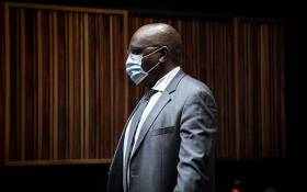 Former ANC MP Vincent Smith appears in the Palm Ridge Magistrates Court on 14 October 2020 in connection with a fraud and corruption case. Picture: Xanderleigh Dookey/EWN