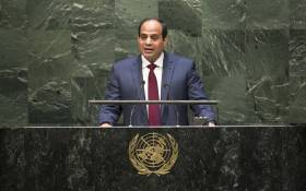FILE: Egyptian President Abdel Fattah Al Sisi. Picture: United Nations Photo