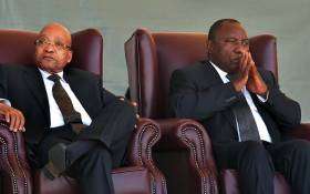 FILE: Former President Jacob Zuma and President Cyril Ramaphosa. Picture: GCIS.