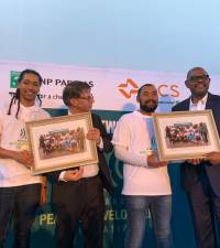 Forest Whitaker launches young peacemaker initiative in Cape Town