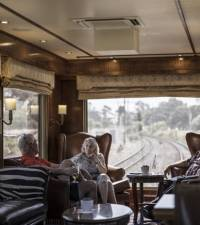 Escape from COVID: South Africa's luxury Blue Train