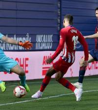Atletico extend lead over Real with narrow win over Eibar