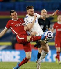 Liverpool and Leeds share spoils amid Super League protests