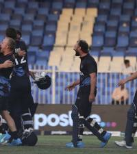 'Completely overwhelming' as Namibia make history at T20 World Cup