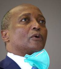 Anouma pulls out of CAF presidency race, backs Patrice Motsepe