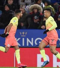 Jesus seals win for Manchester City at Leicester