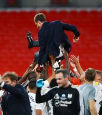 Fulham's Bryan hails manager Parker for playoff free kick success
