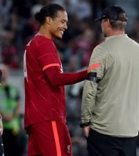 Van Dijk returns for Liverpool after nine months