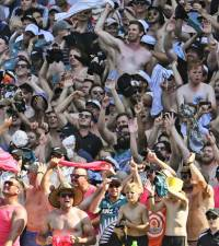 Large sports crowds 'unrealistic' this year, says WHO