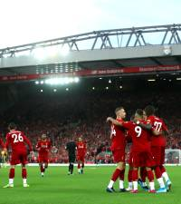 Liverpool head to United with widest gulf in years