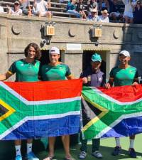 High-flying Harris helps SA beat Venezuela in Davis Cup