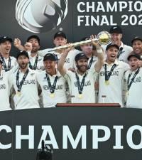 Kiwi joy as long-suffering 'nice guys' crowned Test champions
