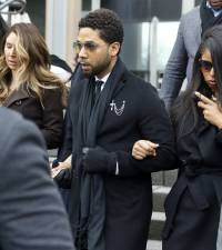 Smollett pleads not guilty to new Chicago hoax charges; seeks stay, dismissal