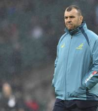 Wallabies coach Cheika survives axe with powers curtailed