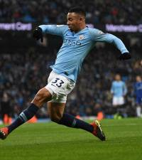 Man City striker Jesus vows no let-up in Liverpool title chase