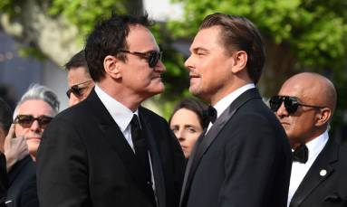 Tarantino rolls into Cannes with 'dazzling' ode to cinema