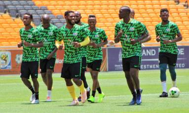'Nervous' qualification wait for Bafana after Nigeria draw