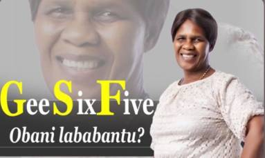 Obani lababantu? Get to know the woman behind the name G65