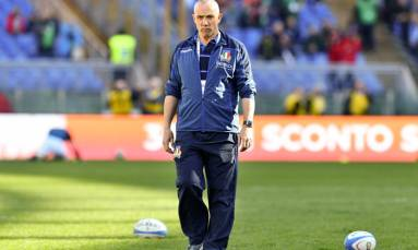 O'Shea targets Springboks upset after naming Italy squad