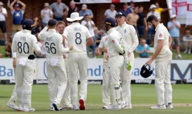 England win third Test to go 2-1 up against South Africa