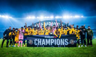 Kaizer Chiefs win Carling Black Label Cup