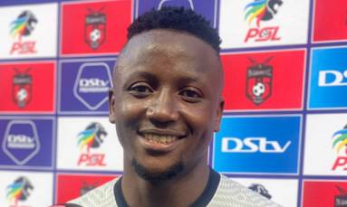 Goalkeeper Bvuma's meteoric rise takes Kaizer Chiefs toward final