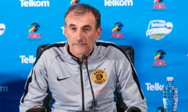 Winning took two years off my life - Kaizer Chiefs coach