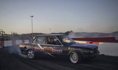 FAST & FABULOUS: Sparks and adrenaline fly in South Africa car 'spinning'