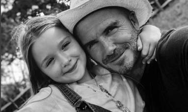 David Beckham wants his children to follow his example